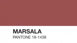 interieur kleuren 2018 - Marsala is als kleur mode in 2018